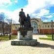 Фото Памятник преподобному Савве Сторожевскому и князю Юрию Звенигородскому 6