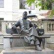Фото Памятник Антону Павловичу Чехову в Звенигороде 8