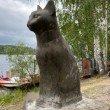 Фото Скульптура «Плесская кошка» 4