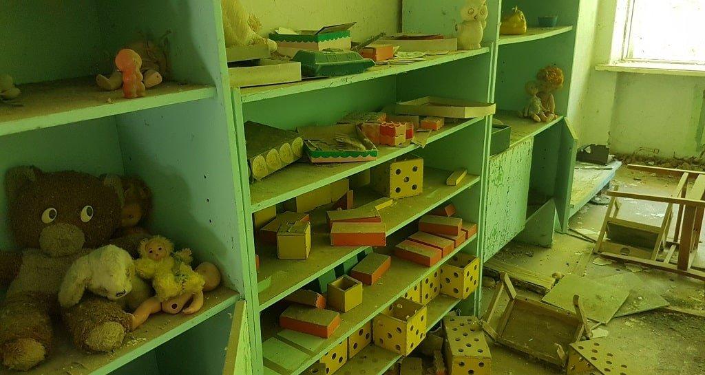 Игрушки в детском саду «Чебурашка»