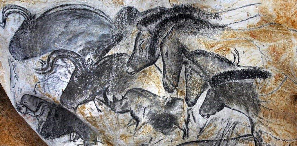 Пещера Шове - рисунок 4 - лошади