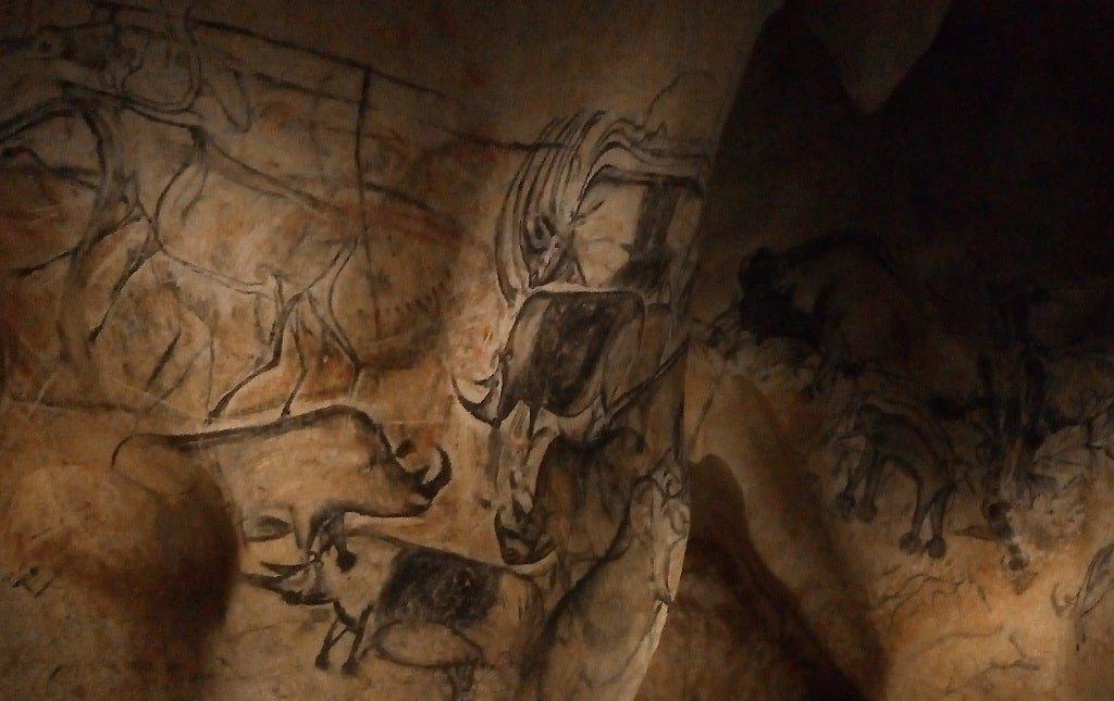 Пещера Шове - рисунок 5 - носороги