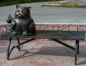 Фото Памятник коту Семену