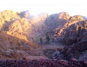 Гора Джебель Хубта