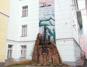 Памятник ледоколу «Ермак»