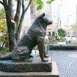 Фото Памятник собаке Хатико в Токио 5