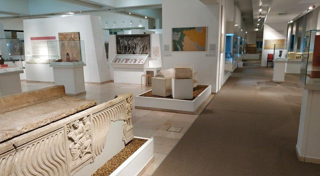 Экспонаты музея библейских стран