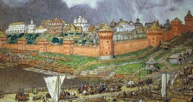 Изображение Кремля 19 июля 1485 года