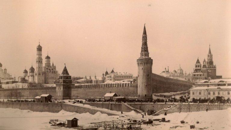 Фото Московского Кремля в советский пириод