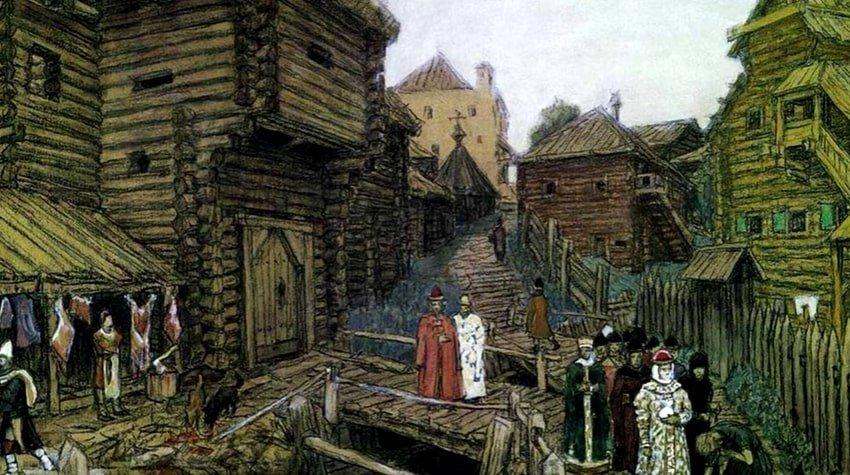 Первые укрепления Московского Кремля