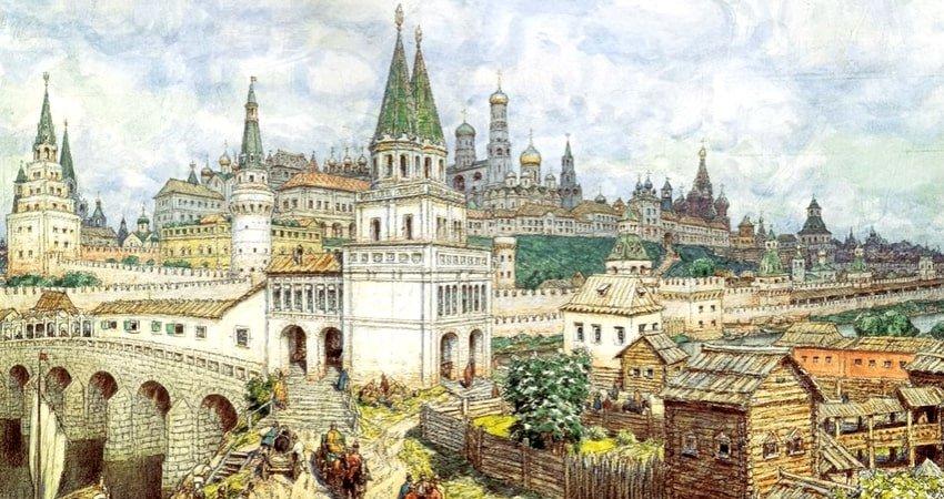 Белокаменный Московский Кремль