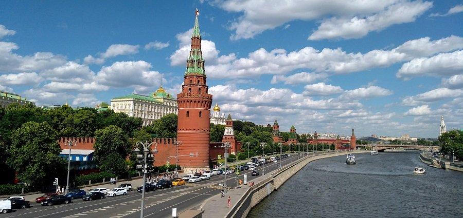 Современный Московский Кремль