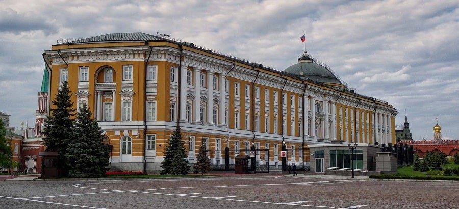 Сенатский дворец - Резиденция президента РФ