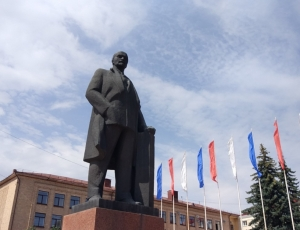 Фото Памятник В. И. Ленину в Брянске