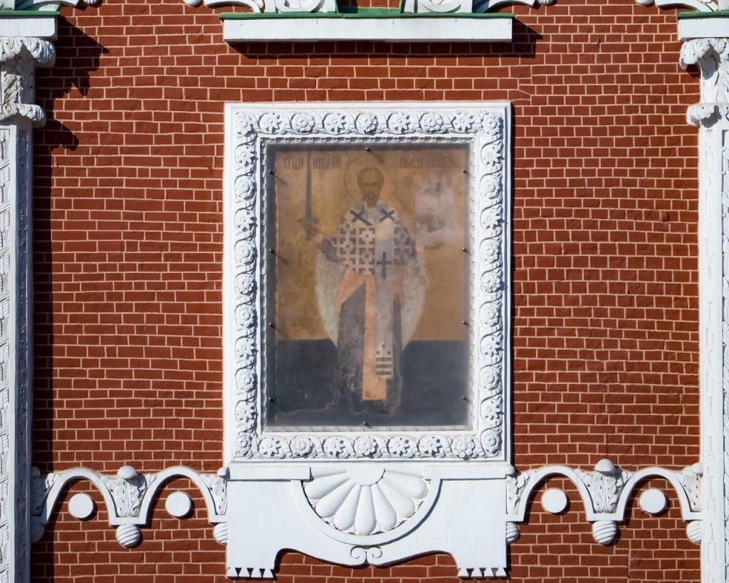 Икона на Никольской башне