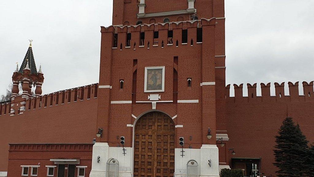 Икона на Спасской башне