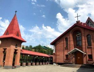 Католический Кафедральный собор Преображения Господня