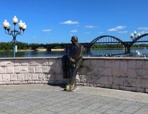 Фото Памятник Льву Ошанину