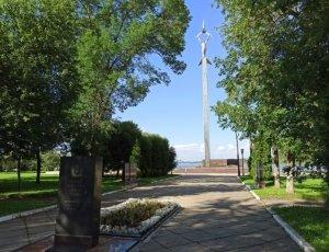 Стелла-Памятник Авиатору