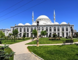 Фото Центральная Джума-мечеть