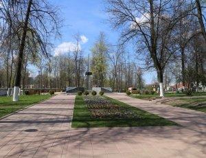 Фото Парк победы в Угличе