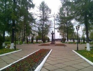 Памятник П.И. Батову