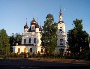 Фото Церковь Георгия Победоносца в Рыбинске