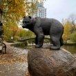 Фото Скульптура «Медведь» в Петрозаводске 3