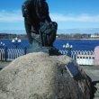 Фото Памятник бурлаку в Рыбинске 7