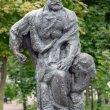 Фото Памятник бурлаку в Рыбинске 4