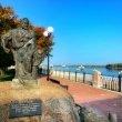 Фото Памятник бурлаку в Рыбинске 8