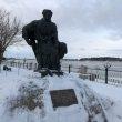 Фото Памятник бурлаку в Рыбинске 6