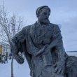 Фото Памятник бурлаку в Рыбинске 9