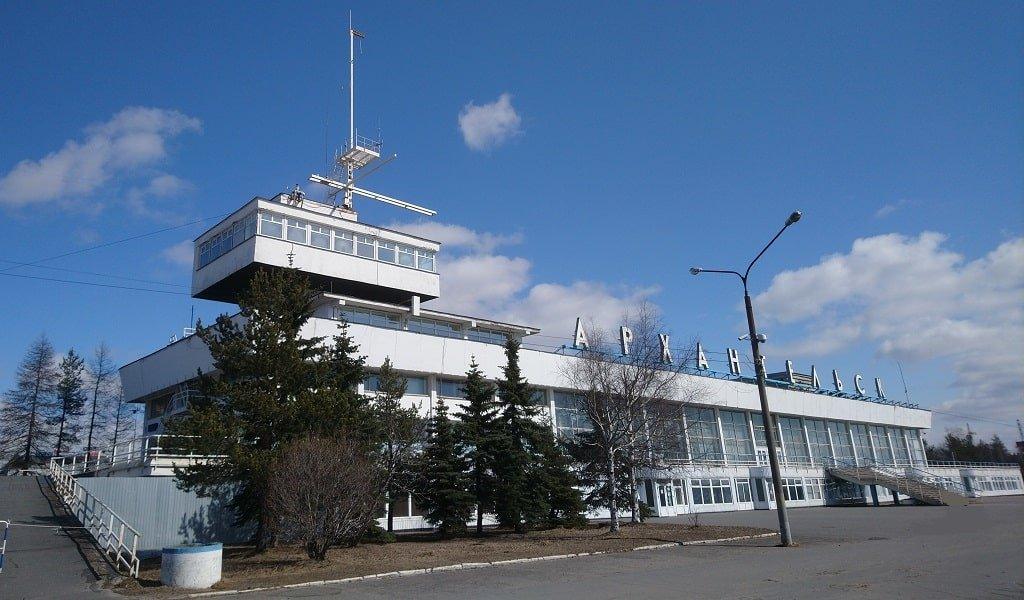Морской порт Архангельска