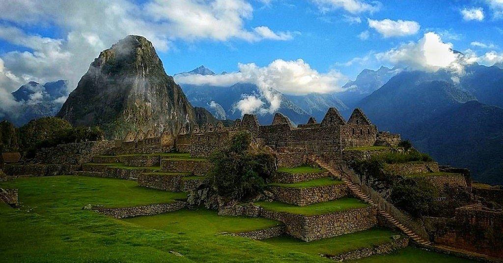 Древний город инков Мачу-Пикчу в Перу
