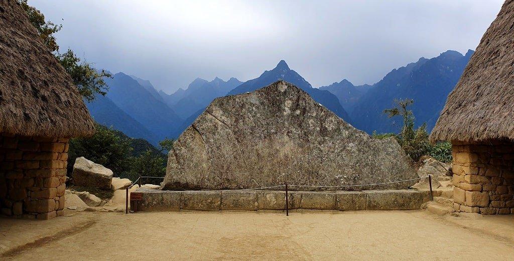 Жилища людей в Мачу-Пикчу