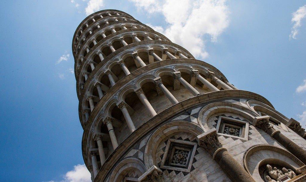 Размеры Пизанской башни