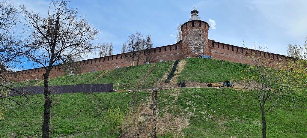Тайницкая башня Нижегородского кремля