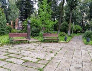 Фото Литературный Сквер в Иваново