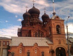 Фото Введенская церковь