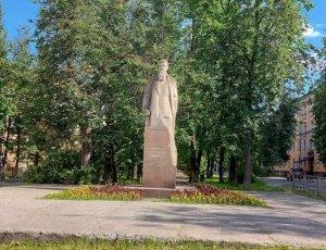 Фото Памятник Ф.А. Афанасьеву