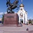 Фото Памятник Георгию Победоносцу в Иваново 8