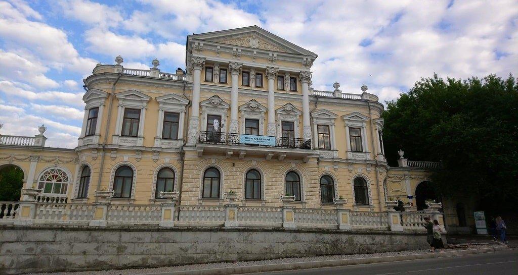 Архитектура Дома Мешкова в Перми